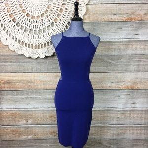 Elizabeth & James | Knit Cutout Bodycon Dress